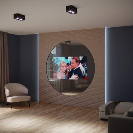 телевизор со стеклом