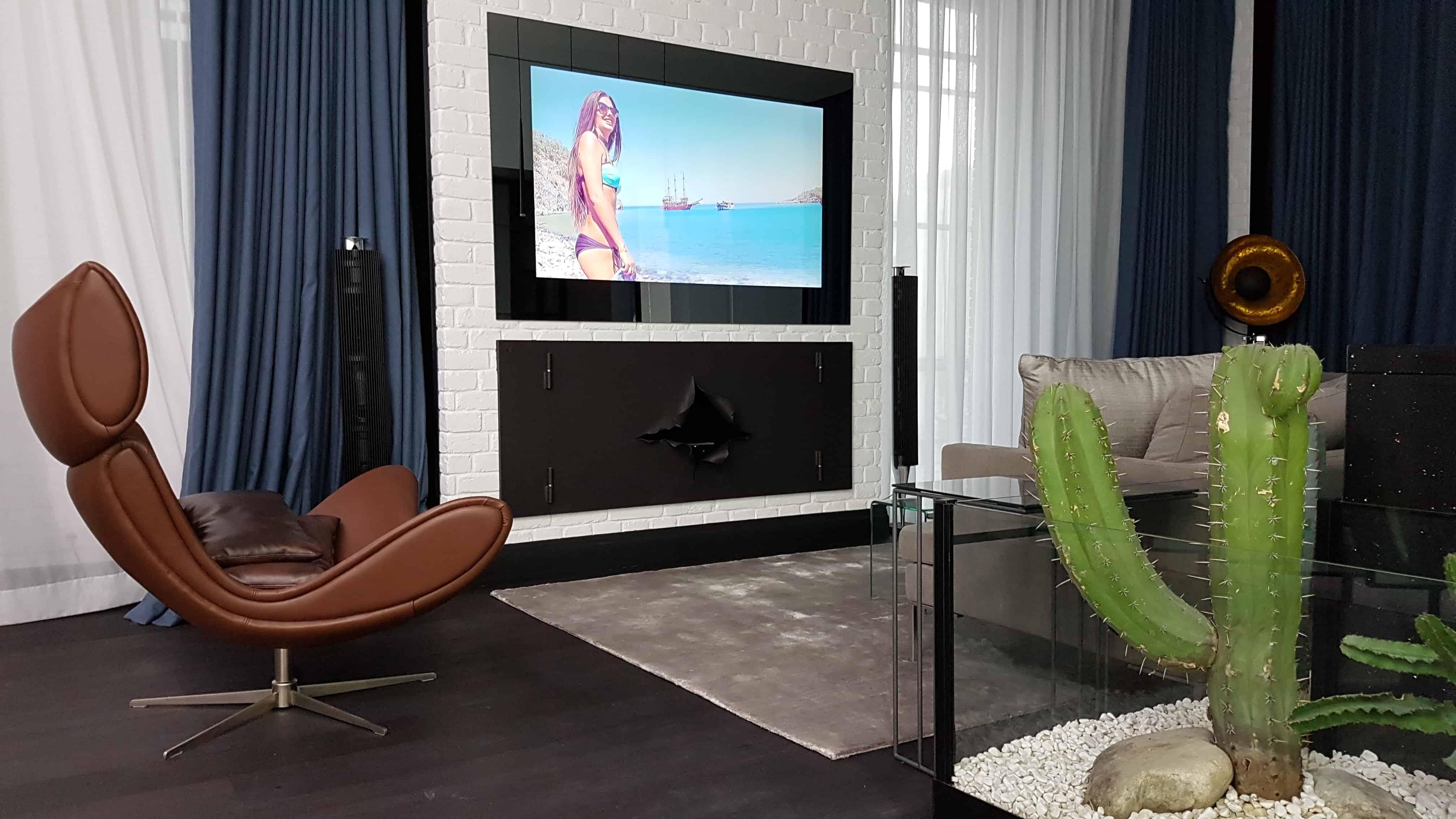 Дизайнерский зеркальный телевизор Tele-Art. телевизор в гостиную