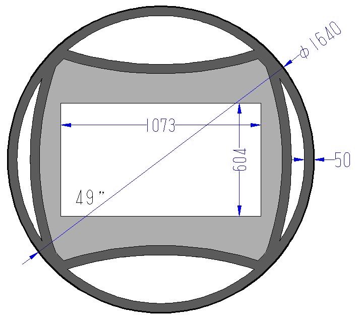 спрятанный зеркальный телевизор