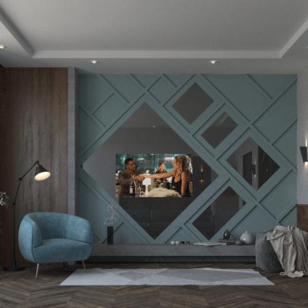 Встроенный телевизор Samsung