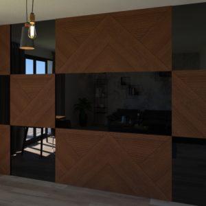 панель для зеркального телевизора 2