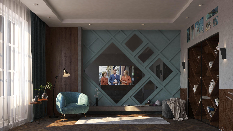 Дизайнерский зеркальный телевизор